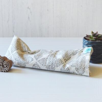 Yogipod eye pillow hand block printed