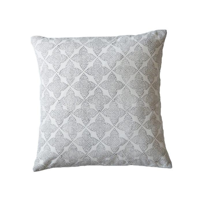 yogipod hand block printed scatter cushion
