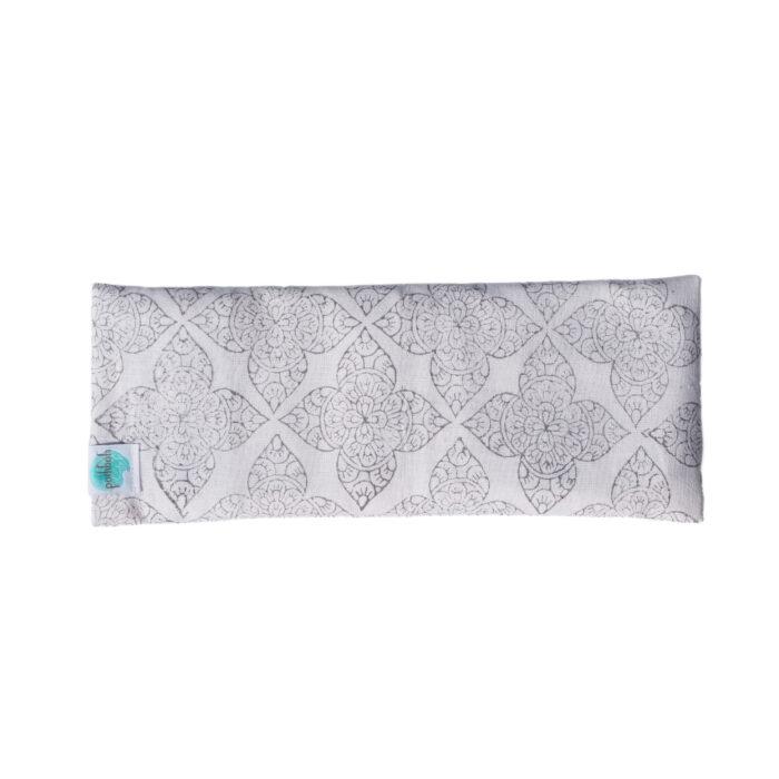 hand block printed yogipod yoga eye pillow