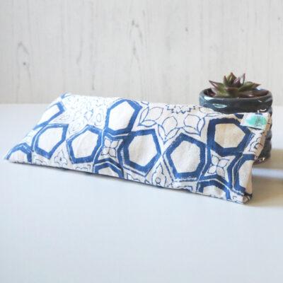 Yogipod Eye Pillow for yoga Blue print design