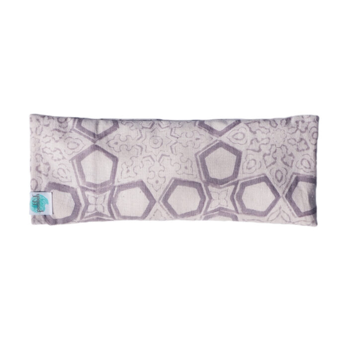 yogipod hand block printed eye pillow