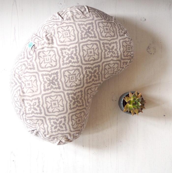 yogipod meditation cushion block printed