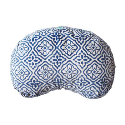 yogipod hand block printed meditation cushion