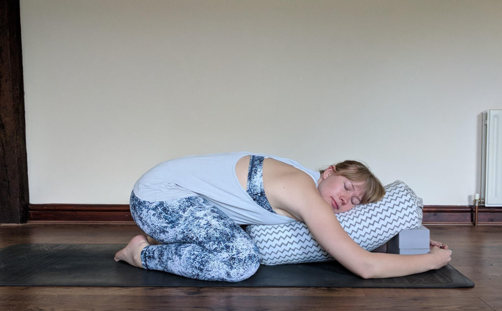restorative childs pose