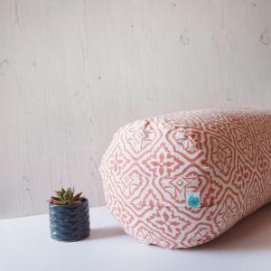 Yogipod Buckwheat Colourful Yoga Bolster Pink