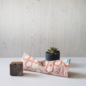 printed eye pillow for yoga