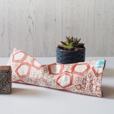 Yogipod block printed eye pillow