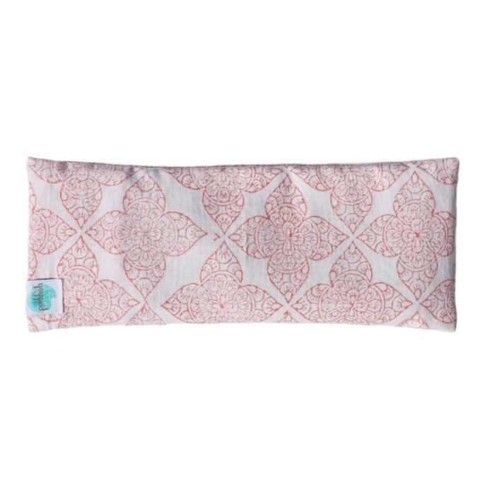 hand printed eye pillow Yogipod