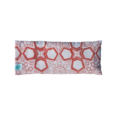 hand block printed yogipod eye pillow
