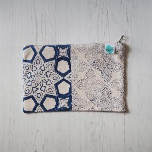 block printed bag
