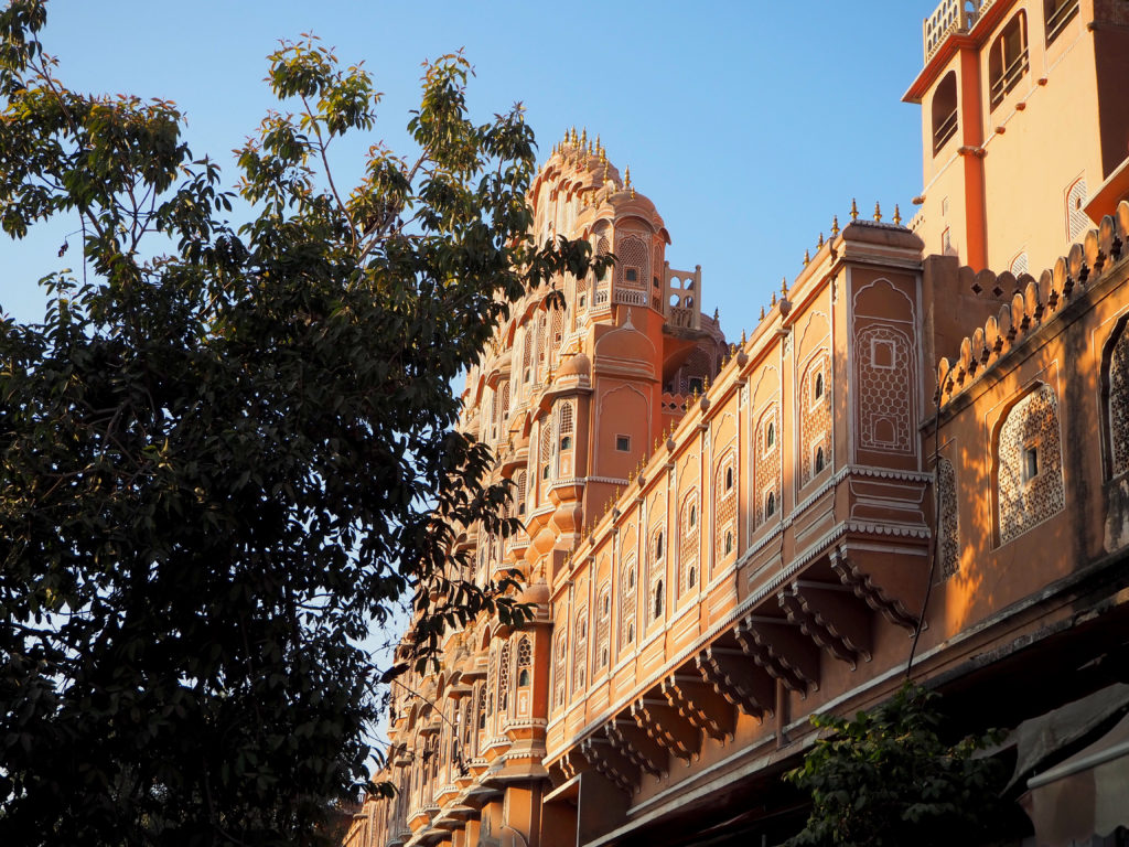 Hawa Mahal in the morning sun
