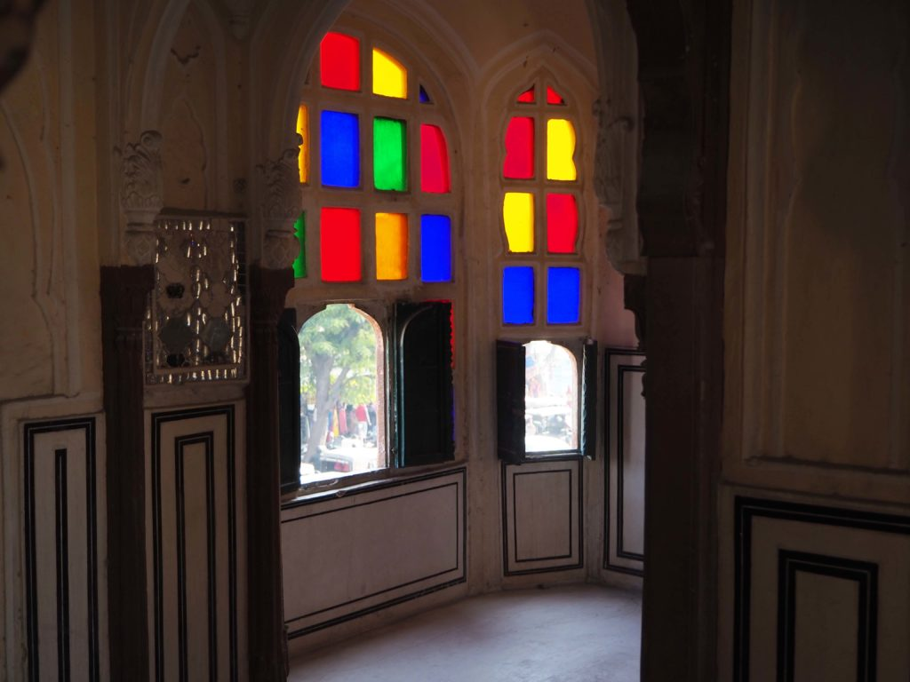 Hawa Mahal stained glass