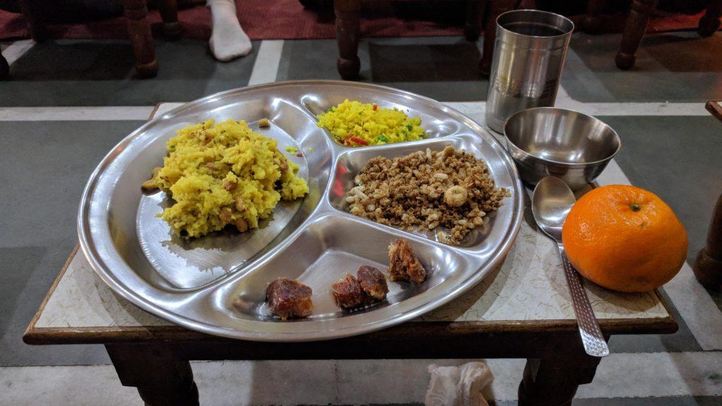 Breakfast at Anand Prakash