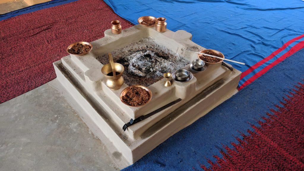 Fire Puja - Agni Hotra