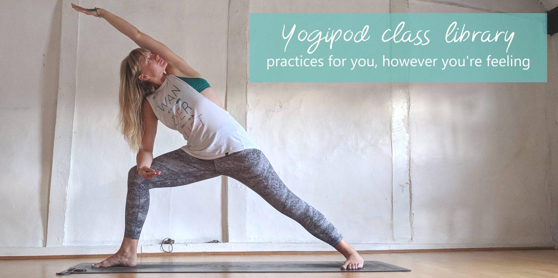 Yogipod yoga class videos