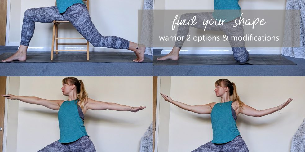 warrior 2 variants and modifications find your shape