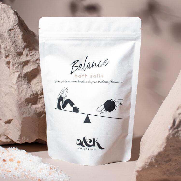 aromatherapy eve and keel balance bath salts